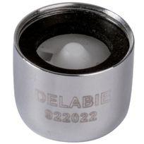 Delabie - Lot de 2 Brise-jet à débit réglable F 22 x 100