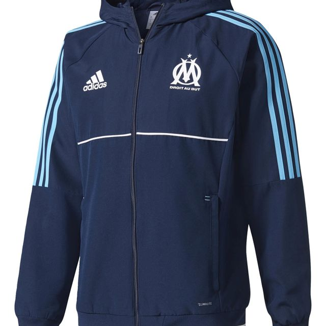 Adidas performance Veste Om Presentation Bleu Veste Club
