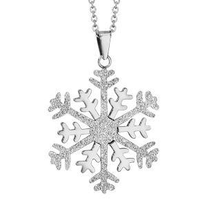 pendentif flocon de neige
