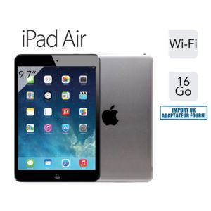 apple ipad air retina 16 go gris sid ral import uk pas cher achat vente ipad ios 7. Black Bedroom Furniture Sets. Home Design Ideas