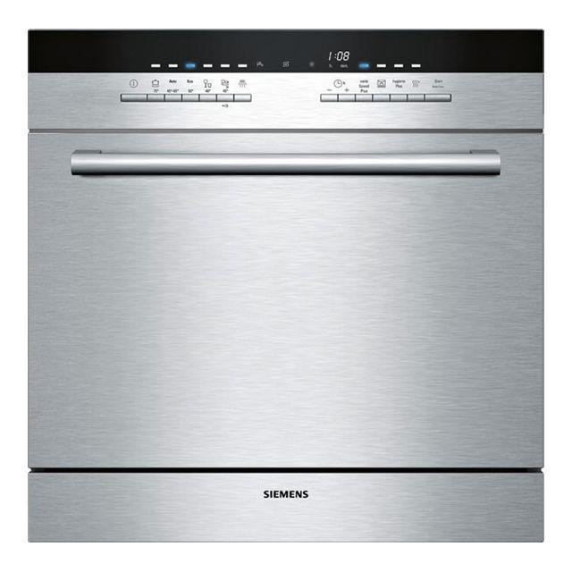 Siemens lave vaisselle compact 8 couverts a encastrable - Lave vaisselle compact 6 couverts ...