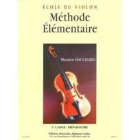 Alphonse Leduc Editions - Méthode élémentaire – Cahier 1 - Méthode de Violon - Maurice Hauchard