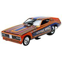 Auto World - Aw1161 - VÉHICULE Miniature - ModÈLE À L'ÉCHELLE - Dodge Charger Funny Car - White Bear 1971 - Echelle 1/18