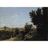 EDITIONS RICORDI - Puzzle 2000 pièces - Art - Harpignies : Le Colisée à Rome