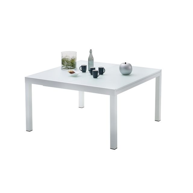 Wilsa - Table De Jardin Carree Whitestar 8 A 12 Personnes ...