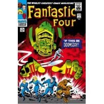 Semic Distribution - Mss002G - Figurine - Marvel Steel Cover - Fantastic Four , 49 - Giant Size