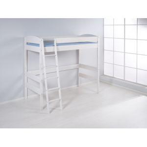lilokids lit mezzanine nele 4105 lit mezzanine volutif hauteur 180 cm blanc laqu 90cm x. Black Bedroom Furniture Sets. Home Design Ideas