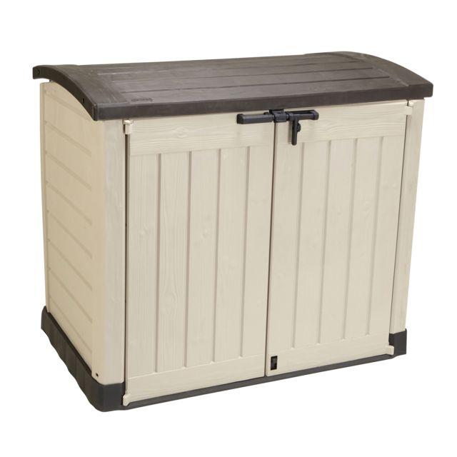 keter store it out abris de jardin marron beige 17199417 pas cher achat vente abris. Black Bedroom Furniture Sets. Home Design Ideas