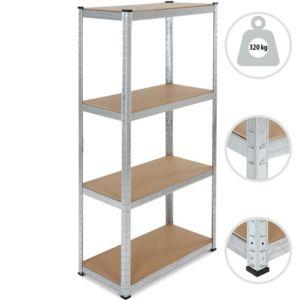 jago tag re de rangement ayant une capacit d 39 env 320 kg 160x80x40 cm pas cher achat. Black Bedroom Furniture Sets. Home Design Ideas