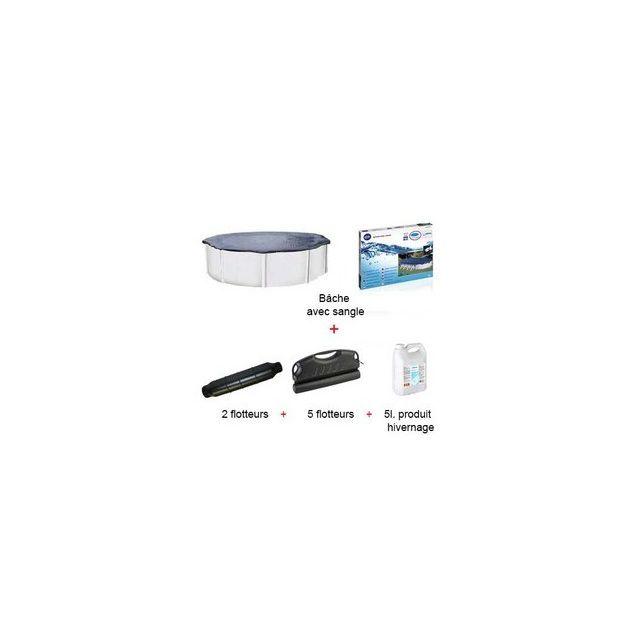 gr kit d 39 hivernage piscine hors sol gr ronde 640 cm pas cher achat vente accessoires. Black Bedroom Furniture Sets. Home Design Ideas