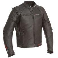 Segura - blouson moto Kooper cuir homme Racing toutes saisons noir mat étanche Scb020 3XL