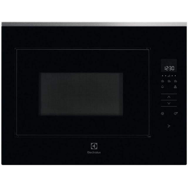 ELECTROLUX micro-ondes encastrable 26l 900w noir/inox - kmfe264tex