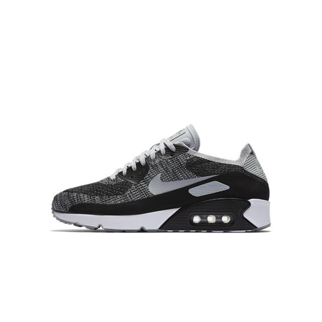 sports shoes 32008 9ac47 Nike - Basket Air Max 90 Ultra 2.0 Flyknit - Ref. 875943-005 - pas cher  Achat   Vente Baskets homme - RueDuCommerce