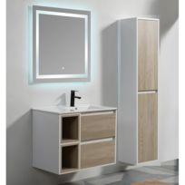 Meuble salle de bain 50 cm catalogue 2019 rueducommerce carrefour - Meuble salle de bain rue du commerce ...