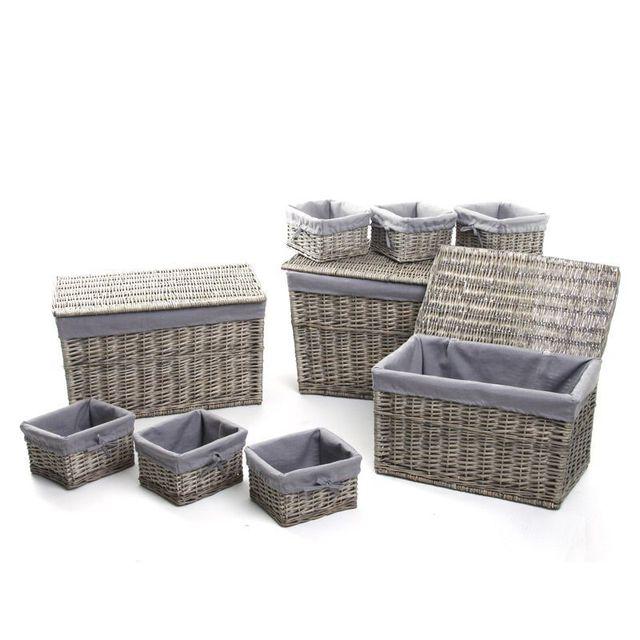 rangement panier achat vente de rangement pas cher. Black Bedroom Furniture Sets. Home Design Ideas