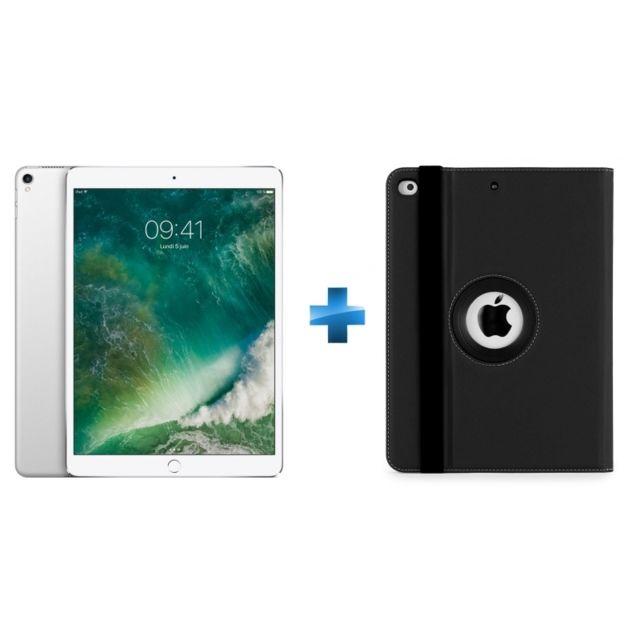 APPLE - iPad Pro - 64 Go - WiFi - MQDW2NF/A - Argent + THZ676GL - Versavu iPad Pro 10,5 - Noir