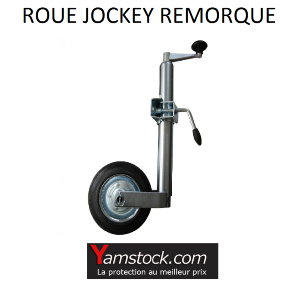 alpa roue jockey diam 48mm metal collier pour remorque caravane pas cher achat vente. Black Bedroom Furniture Sets. Home Design Ideas
