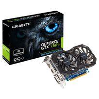 GIGABYTE - GeForce GTX 750Ti OC 2GI - 2Go DDR5