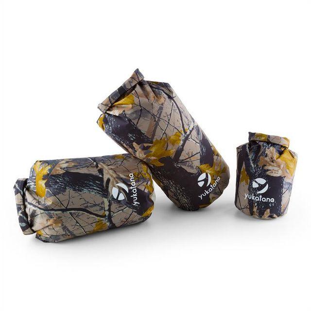 YUKATANA - Treckset Camo Set de Sacs marin Imperméable 3 pcs. 5 15 20l  Camouflage - pas cher Achat   Vente Sacs à dos petite rando - RueDuCommerce 67c64d788a36