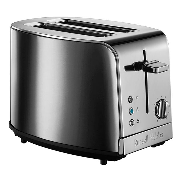 RUSSELL HOBBS grille-pains 2 fentes 1050w gris - 21782-56