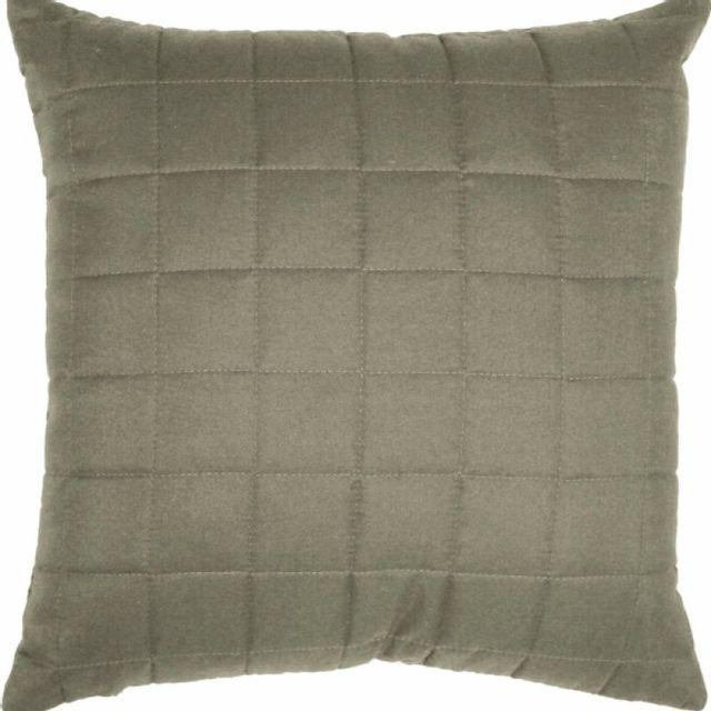 100pourcentcoton housse de coussin dehoussable 40x40 cm venus microfibre taupe pas cher. Black Bedroom Furniture Sets. Home Design Ideas
