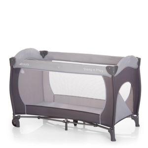 hauck lit parapluie sleep and play go plus stone gris pas cher achat vente lit parapluie. Black Bedroom Furniture Sets. Home Design Ideas