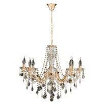 Ks Leuchten - Odessa - Lustre Cristal & Or Ø64cm | Lustre et plafonnier Spotlight designé par