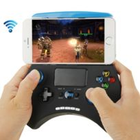 Wewoo - Manette iPhone bleu pour / iPad / iPod / Samsung / Htc / Moto / Android Tv Box / Tv / Pc Bluetooth Touch Gamepad