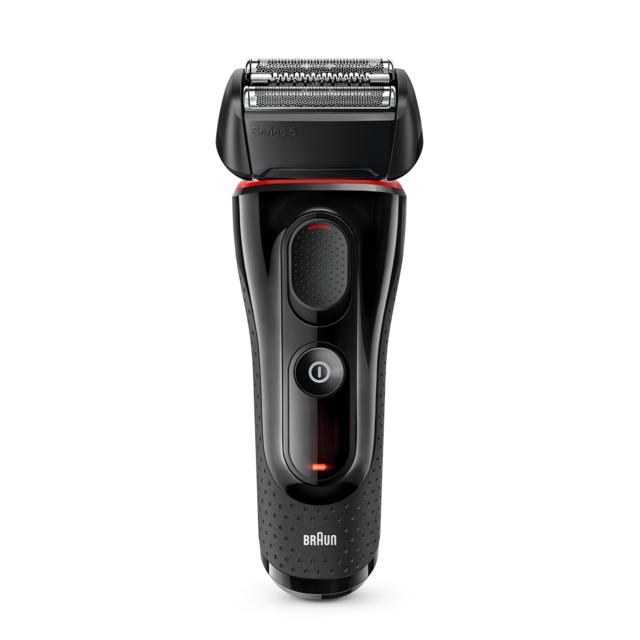 BRAUN Rasoir électrique Séries 5 Black & Red - 81692102 - Noir