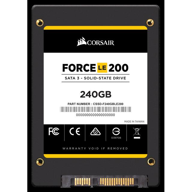 "CORSAIR - SSD Force Series LE200 2.5"" 240 Go SATA III TLC 7mm"