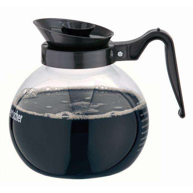 Bartscher Cafetiere en verre, 1,8L pour machine a cafe