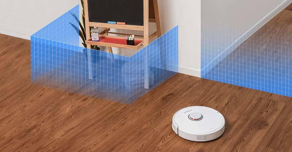 Aspirateur robot S6 murs invisibles