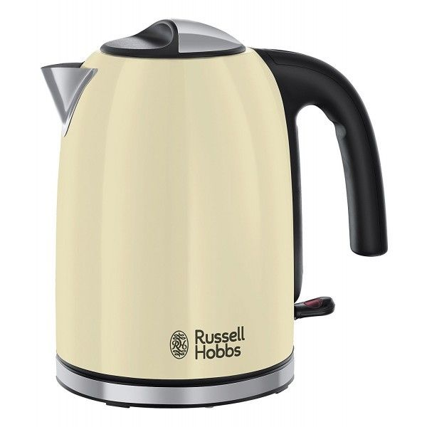 Russell Hobbs Bouilloire 1,7l - 2400W Colours Plus+ Crème 20415-70