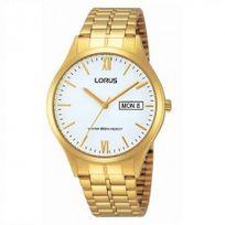 Lorus - Montre classique dorée homme - Rxn02DX9