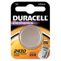 Duracell - pile lithium3v cr2430 electronics - blister de 1