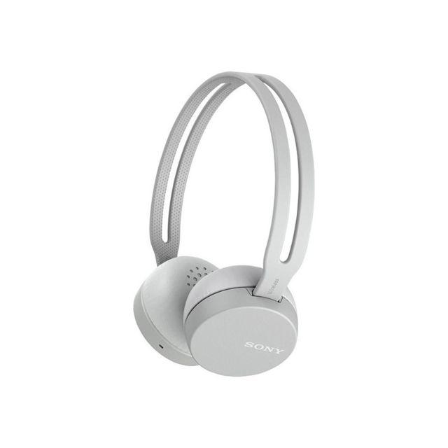 Sony Oreillette Bluetooth Wh Ch400b Usb Gris Pas Cher Achat