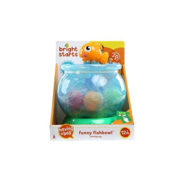 Bright Starts Jouet Deveil Funny Fishbowl