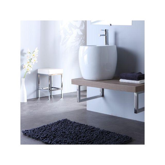 planetebain soldes meuble de salle bain suspendre quip d 39 un lavabo haut design blanc gris. Black Bedroom Furniture Sets. Home Design Ideas