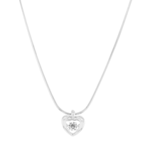 Gravity - Collier Argent 925/1000 Oxyde