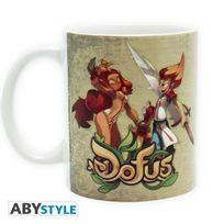 Abystyle - Dofus - Mug Lop & Ecaflip - 320 ml - Céramique - Avec boite