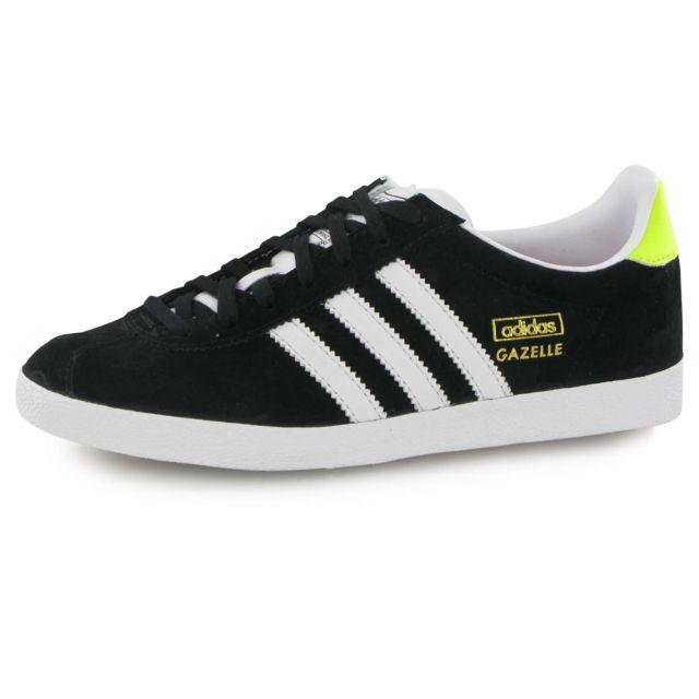 Adidas - Gazelle Og noir, baskets mode femme