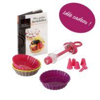 Bonareva - Coffret pour tartelettes + livre de recettes