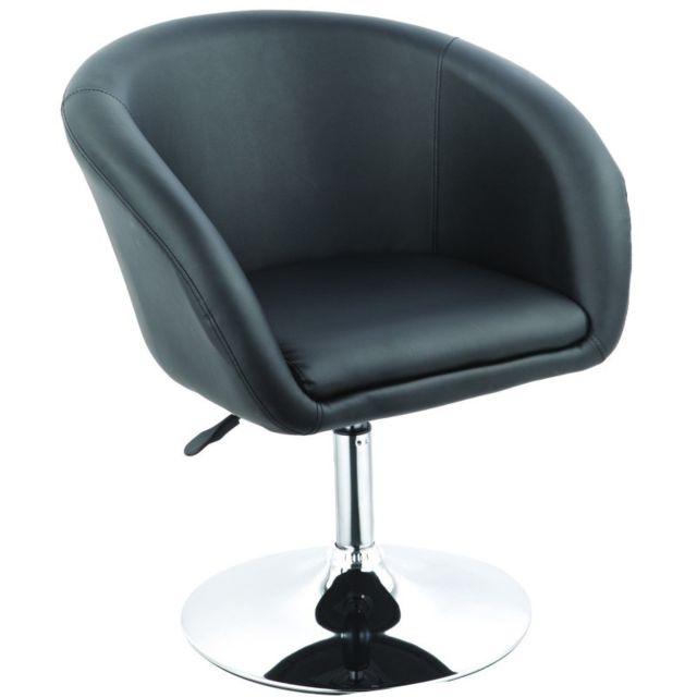 lounge salon noir à bureau Fal09015 Fauteuil manger salle rdBeCox