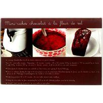 Promobo - Planche A Découper En Verre Design Gourmand Recette Cakes au Chocolat 20x30cm