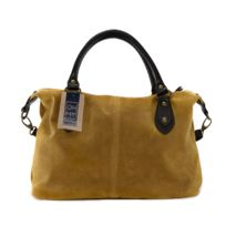 773669145e Oh My Bag - Sac à main cabas cuir nubuck Opéra - pas cher Achat ...