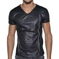 Doger Wear - T Shirt Manches Courtes - Homme - Sd 17 Zip - Noir