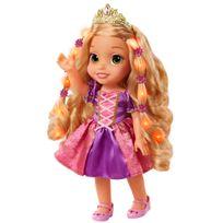 DISNEY PRINCESSES - Poupée Raiponce chantante avec cheveux magiques - H 38 cm - 95272