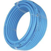 Cipso - Tube Per nu en polyéthylène réticulé bleu couronne 120 m - diamètre 20