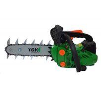 Tck Garden - Garden lopper tronçonneuse + élagueuse + taille haies thermique