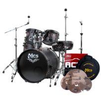 Mes - Black Fusion set de batterie Set incl. Act Series kit de cymbales